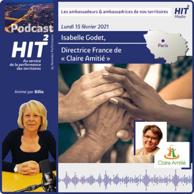Isabelle Godet Directrice France de « Claire Amitié » cover