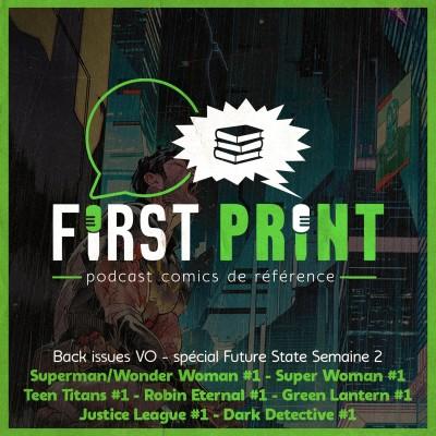 DC Future State : le point sur les comics de la semaine 2 [Back Issues VO] ! cover