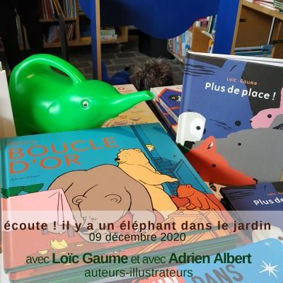 Loïc Gaume et Adrien Albert, auteurs-illustrateurs, revisitent les contes traditionnels cover