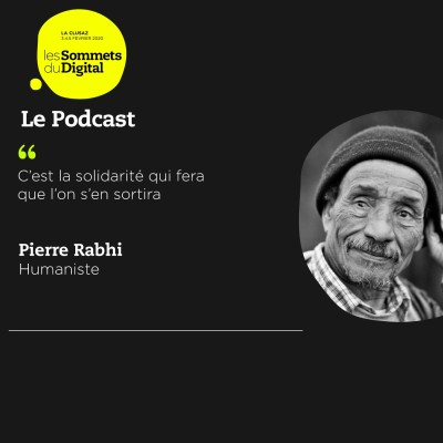 Cover' show Pierre Rabhi : Penser avant tout au bien collectif