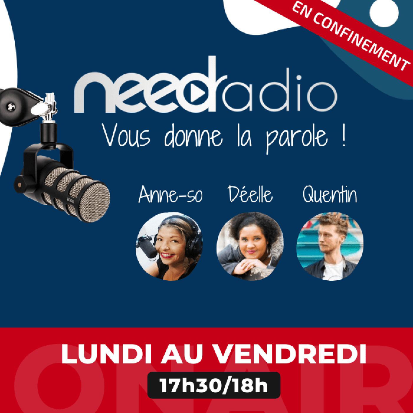 #NRVDLP spéciale confinement - Isabelle Rolland (Maire-adjointe à la Culture) et Clément Legrand (Education) (04/05/20)
