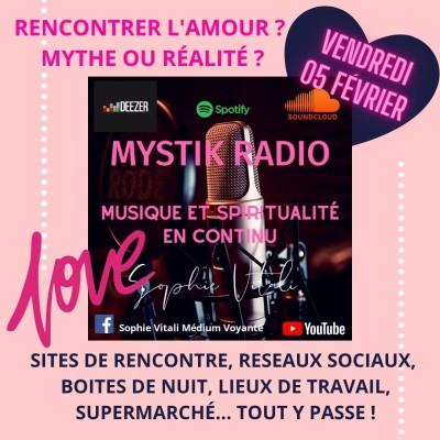 Image of the show Rencontrer l'amour ? Mythe ou réalité ? animée par Sophie Vitali