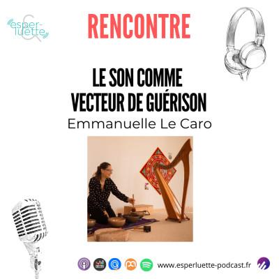 Emmanuelle Le Caro - Sonothérapeute cover
