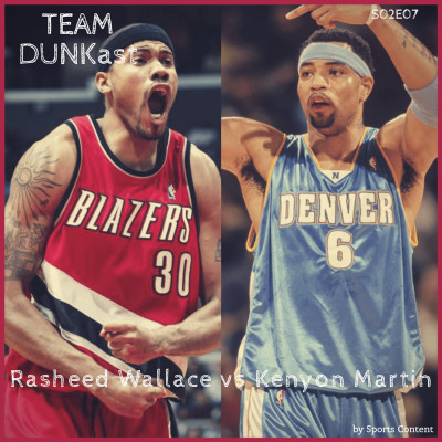 Rasheed Wallace vs Kenyon Martin : duel d'ailiers forts ! cover