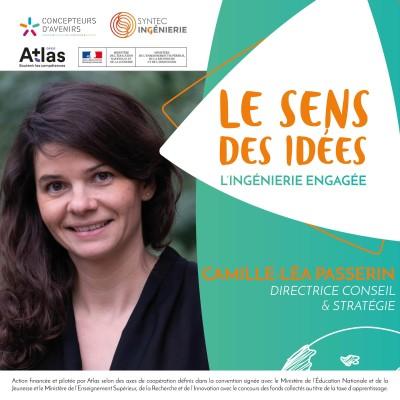 LEADERSHIP AU FÉMININ - Camille-Léa Passerin, Directrice Conseil & Stratégie cover