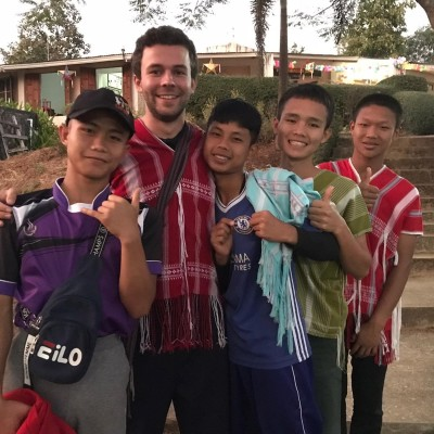 Baptiste, Volontaire Bambou en Thailande - 2020 cover