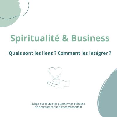 Spiritualité & Business cover