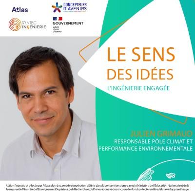 DÉVELOPPEMENT DURABLE - Julien Grimaud, responsable pôle climat et performance environnementale cover