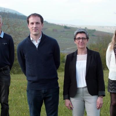 Canton de Wintzenheim : Rachel Grossetête et Benjamin Huin veulent un nouvel élan pour leur territoire cover