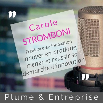 # 16 Carole STROMBONI, freelance en innovation cover