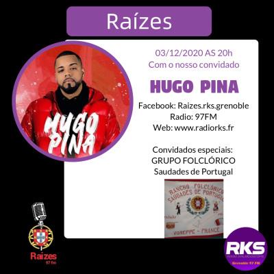 LUSOTIME - Emission du 03/12/2020 avec Hugo Pina e Saudades de Portugal de Voreppe cover