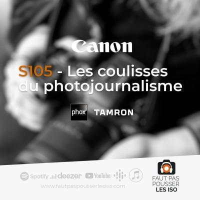S105 - Les coulisses du photojournalisme. cover
