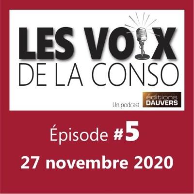 """Épisode 5 : la folie """"végétal"""" / le palmarès 2020 de l'innovation produits / Danone qui licencie cover"""