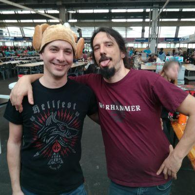 image Olivier et Guillaume - Le stand Figurine du Festival du jeu de société de Pau