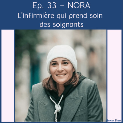 Nora - L'infirmière qui prend soin des soignants cover