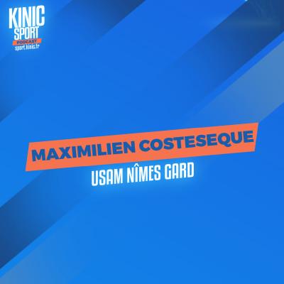 #20 - Maximilien Costeseque : USAM Nîmes Gard cover