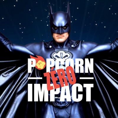 #035 - Popcorn Zero Impact - Batman Triumphant cover
