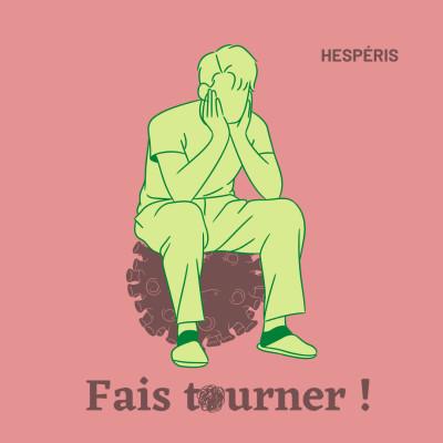 FAIS TOURNER ! #4 Santé mentale & COVID - Coraline cover