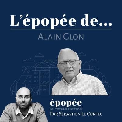 L'épopée d'Alain Glon par Sébastien Le Corfec (Epopée / West Web Valley) cover