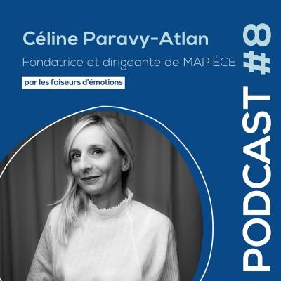 #8 - Céline Paravy-Atlan - Fondatrice et dirigeante de MAPIÈCE - Maisons d'hôtes pour entreprises cover