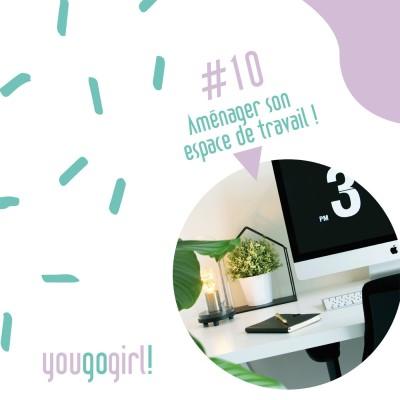 Cover' show #10 Aménager son espace de travail, son bureau - ITW Magali Gindro - Partie 2