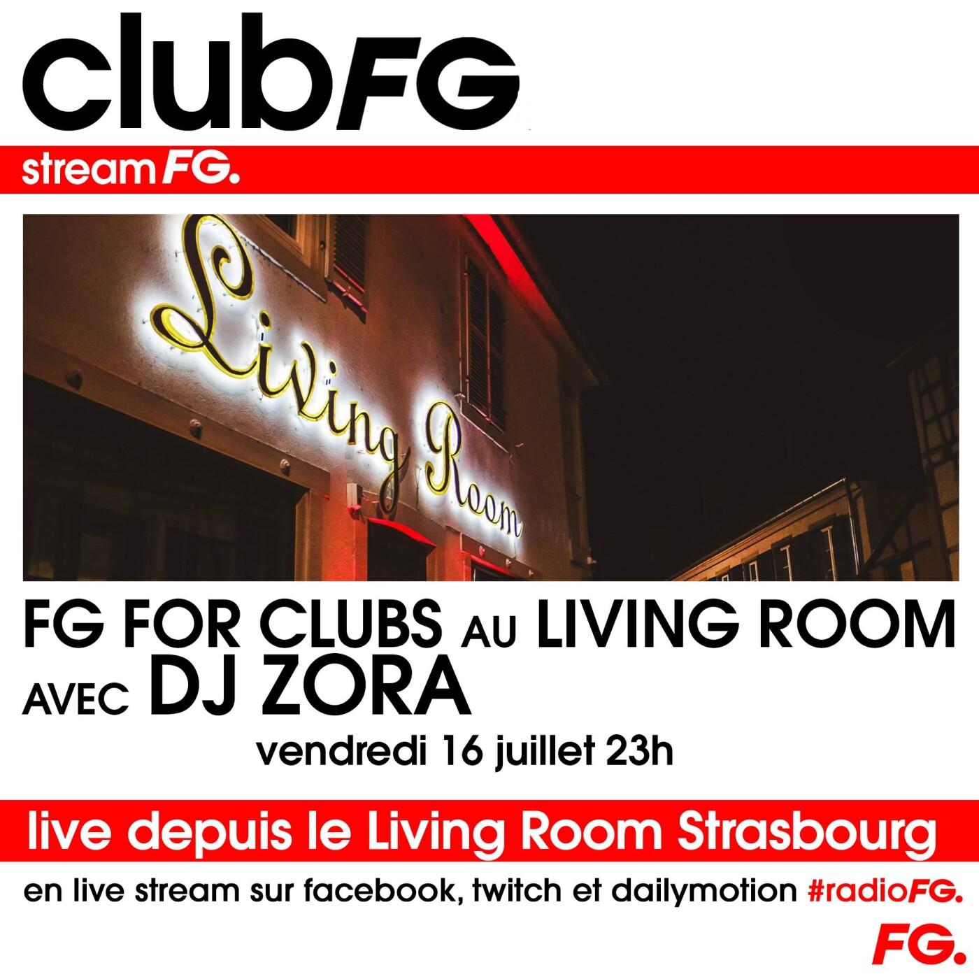 CLOUD PARTY : LIVING ROOM STRASBOURG AVEC ZORA