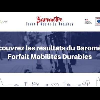 Webinar - Baromètre Forfait Mobilités Durables : les résultats dévoilés ! cover