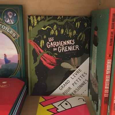 Grands livres pour petites personnes #11 - Les gardiennes du grenier cover