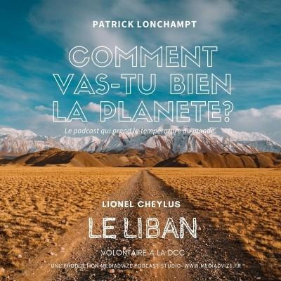 EP 5 LE LIBAN - LIONEL CHEYLUS, VOLONTAIRE A LA DCC cover
