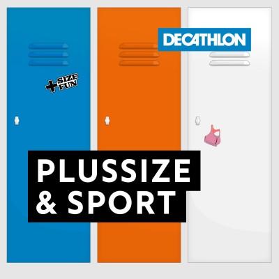 #5 Plussize & sport. Sporten met een maatje meer, doe waar jij je goed bij voelt. cover