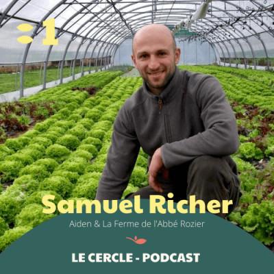#1 Samuel Richer, responsable maraîcher & coordinateur technique AIDEN cover