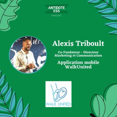 Faire des dons caritatifs tout en marchant - Alexis Triboult - WalkUnited cover