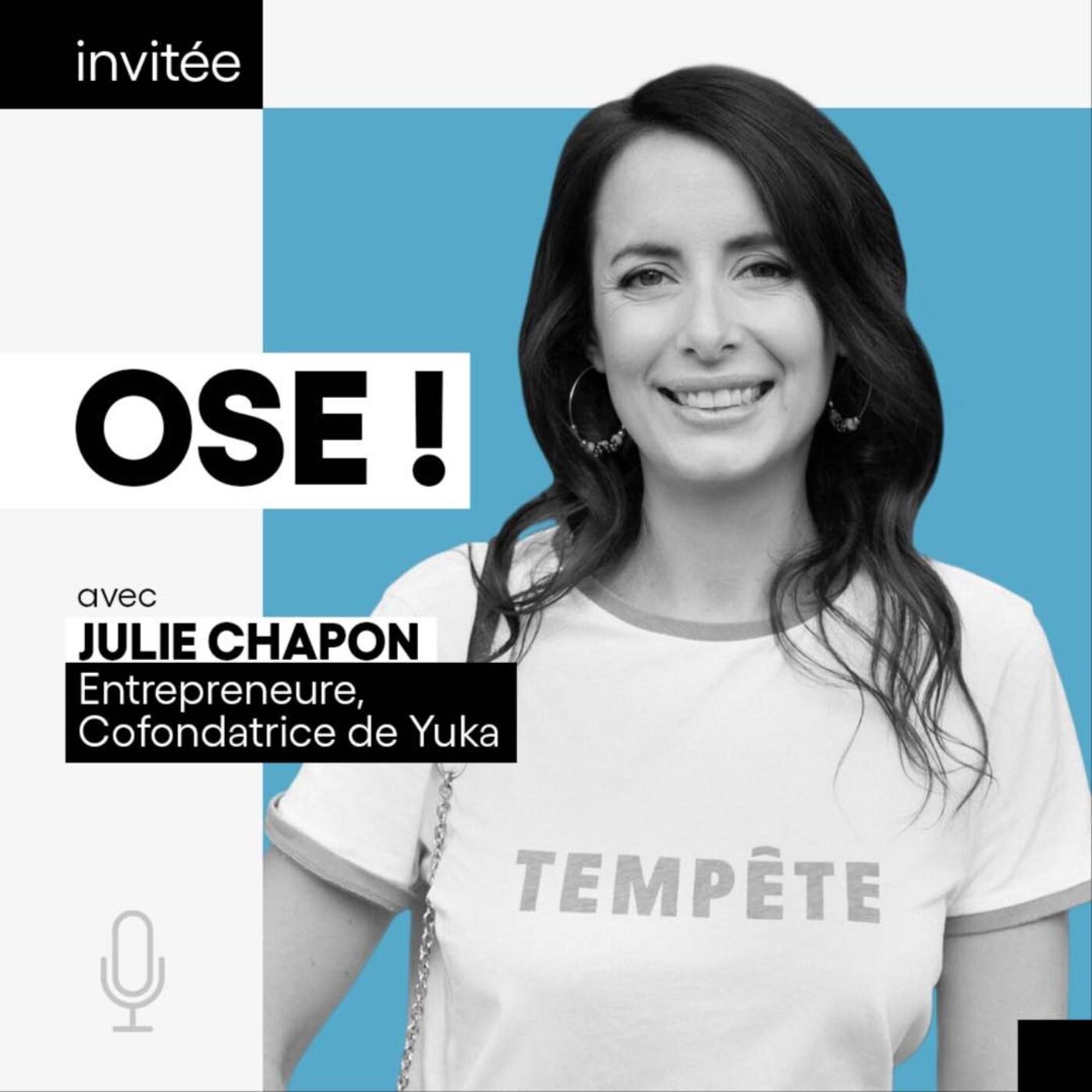 Julie Chapon, Entrepreneure, cofondatrice de Yuka